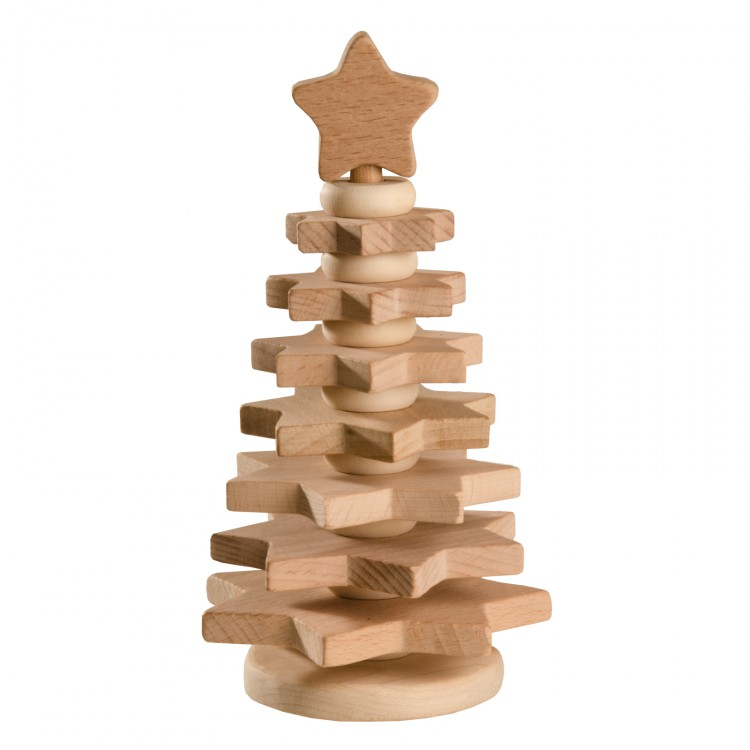 Пирамидка «Елочка неокрашенная» Вальда