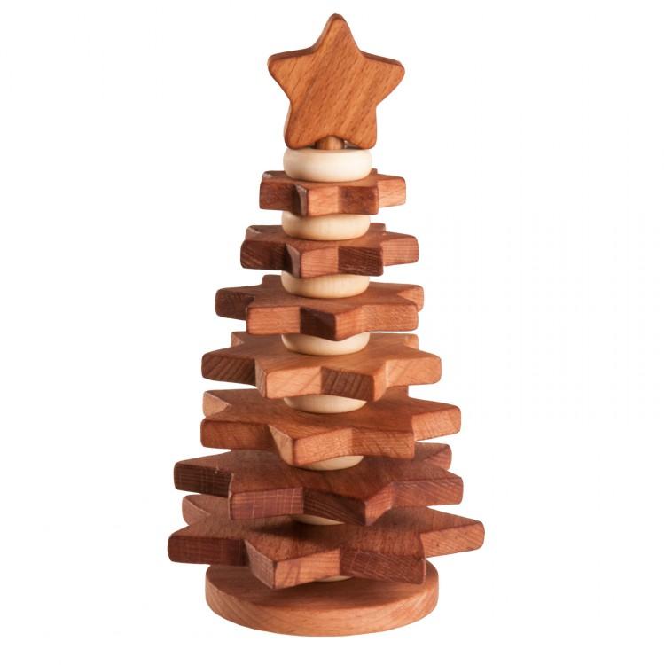 Пирамидка «Елочка покрытая льняным маслом» Леснушки