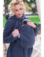 Слингопальто зимнее Diva Outerwear Notte (без вставки для беременных)