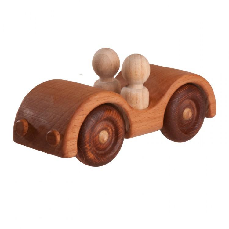 Машинка Кабриолет с 2 пассажирами Леснушки