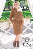 Слингопальто зимнее Diva Outerwear Camello (без вставки для беременных)