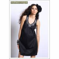 Платье Mothers en Vogue Ara Embroidered, цвет черный