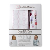 Набор пеленок SwaddleDesigns - Swaddle Duo PP Cute & Wild