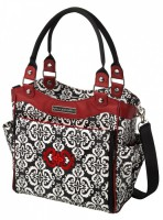 Petunia City Carryall: Frolicking in Fez