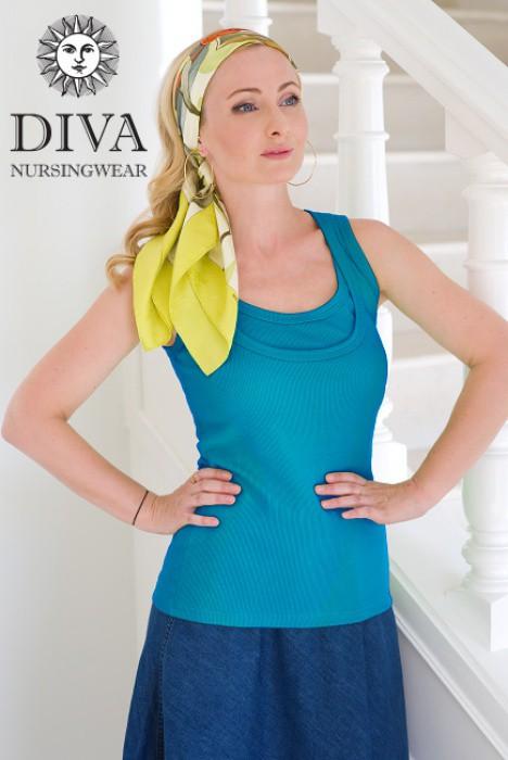c2d86c45e5ac Топ для кормления Diva Nursingwear Eva, цвет Turchese 207-210 купить ...